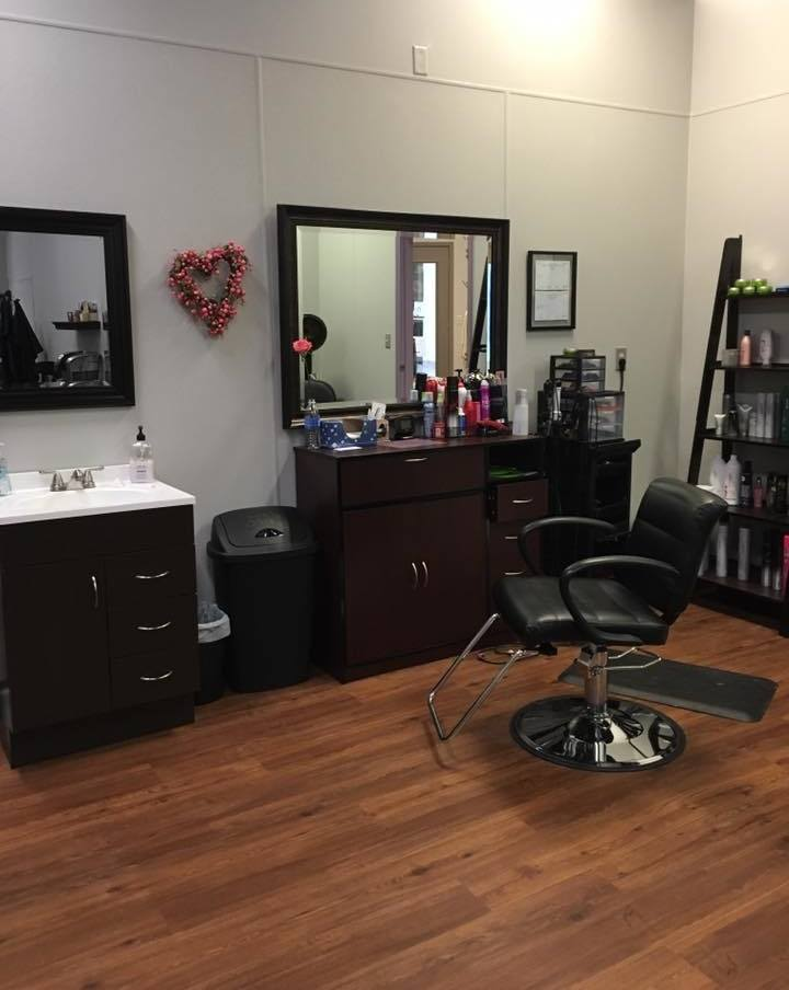 Hair Salon at Hang Loose Boutique in The Gallery of Shops, Adrian